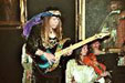 Photo of Uli Jon Roth playing Sky Guitar